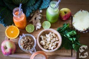 Alimentation ressourçante et atelier détox | Le Sens des Saveurs